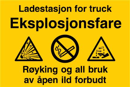 Ladestasjon truck
